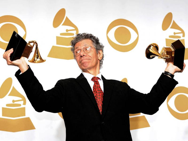 Chick Corea nos Grammy Awards 2012 (EPA/Michael Nelson)