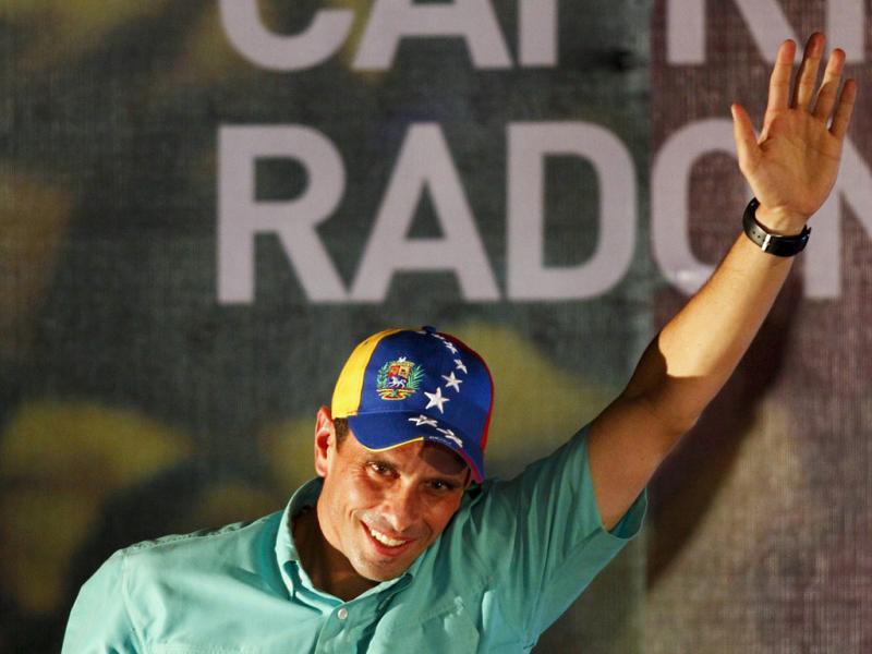 Henrique Capriles (Carlos Garcia Rawlins/Reuters)