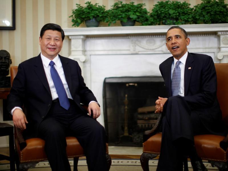 Obama recebe Xi Jinping