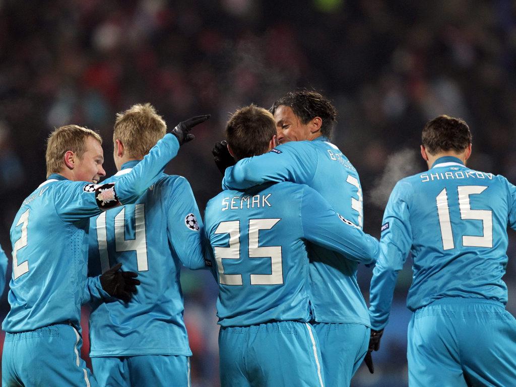 Zenit-Benfica [Alexander Demianchuk / Reuters]