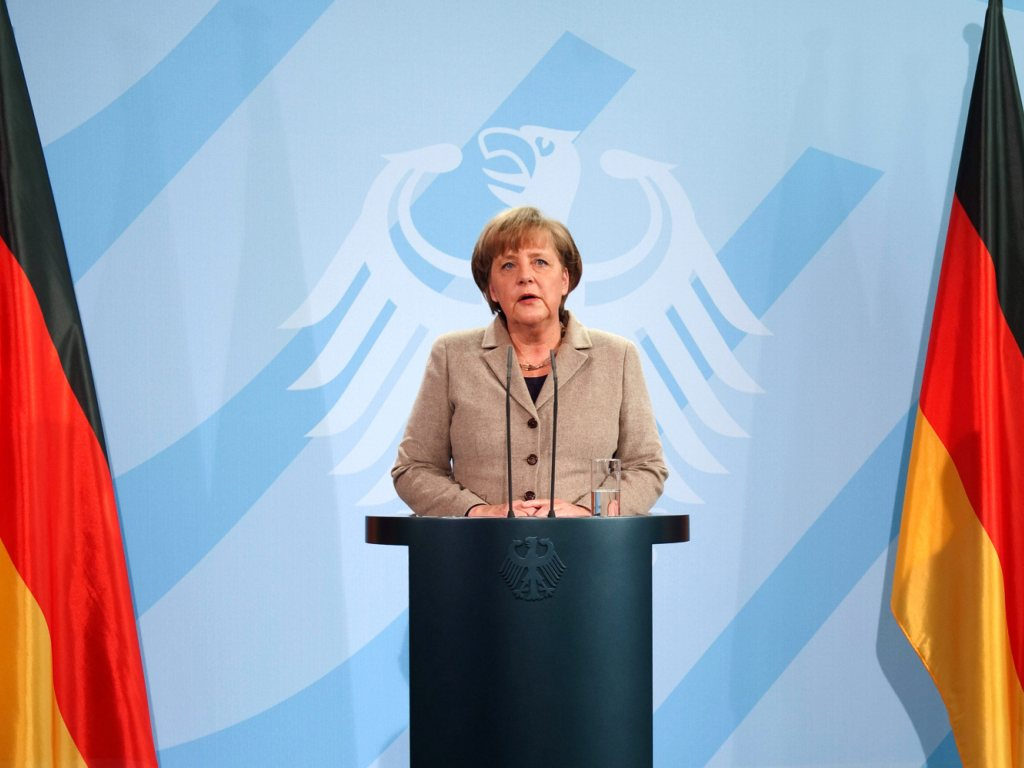 Angela Merkel - EPA/SEBASTIAN KAHNERT