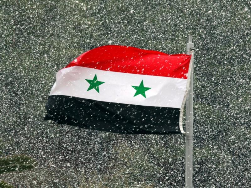 Bandeira da Síria (EPA)
