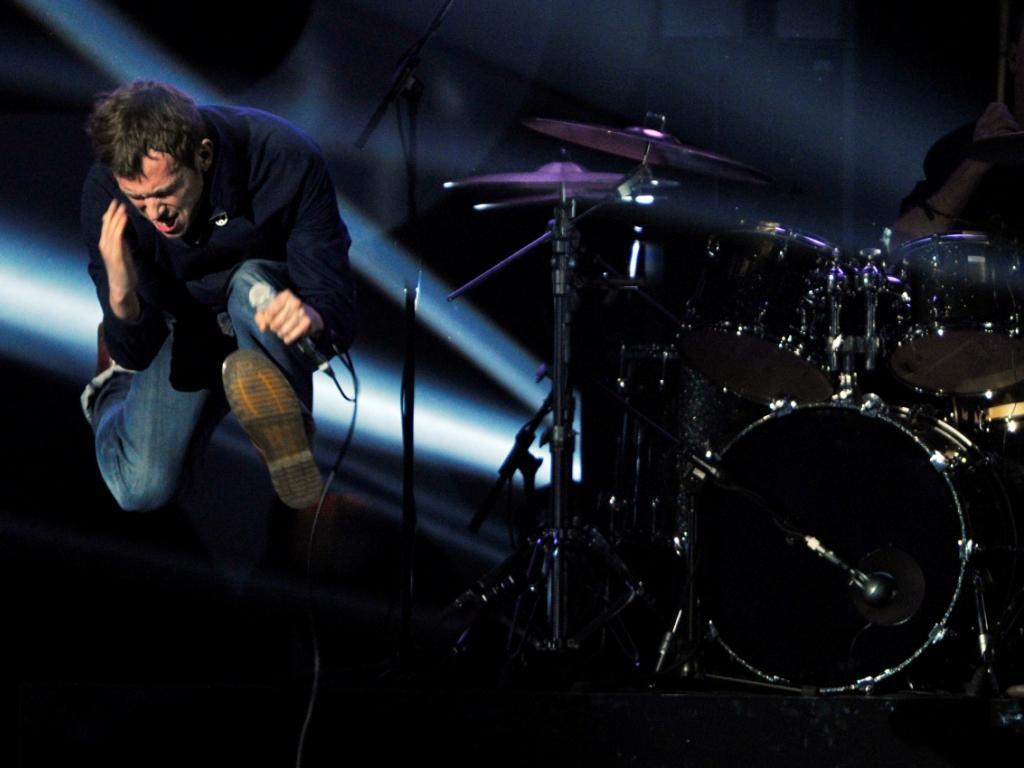 Blur nos Brit Awards (Reuters)