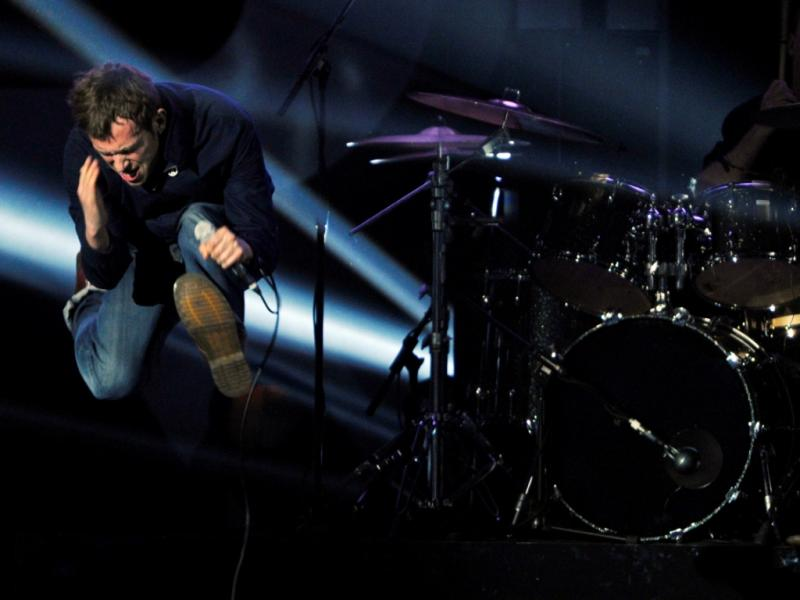 Blur nos Brit Awards (Reuters)