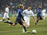 Marselha vs Inter Milão (EPA/Stephane Reix)
