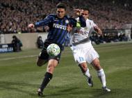 Marselha vs Inter Milão (EPA/Guillaume Horcajuelo)