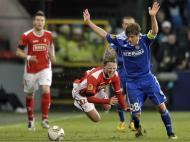 Standard Liège vs Wisla (EPA/Nicolas Bouvy)