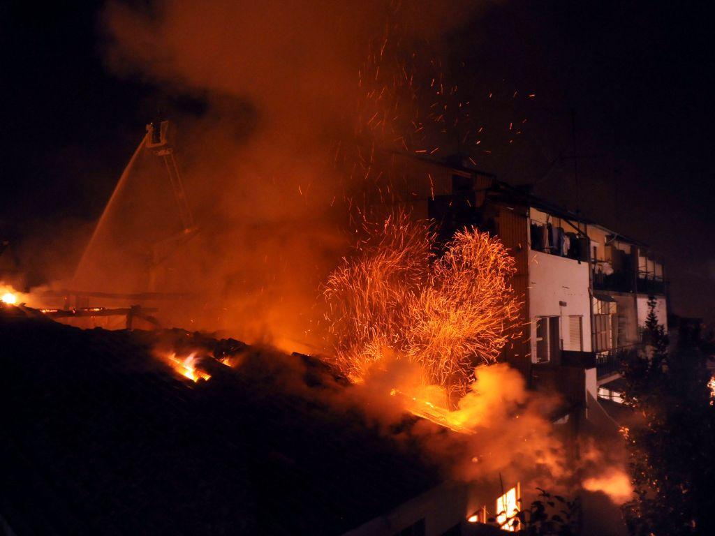 Incêndio em Braga (HUGO DELGADO/LUSA)