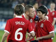 Gales vs Costa Rica, homenagem a Gary Speed [Phil Noble / Reuters]