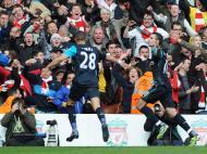 Liverpool vs Arsenal (EPA/Peter Powell)