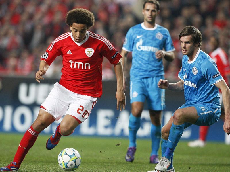 Benfica vs Zenit (LUSA)