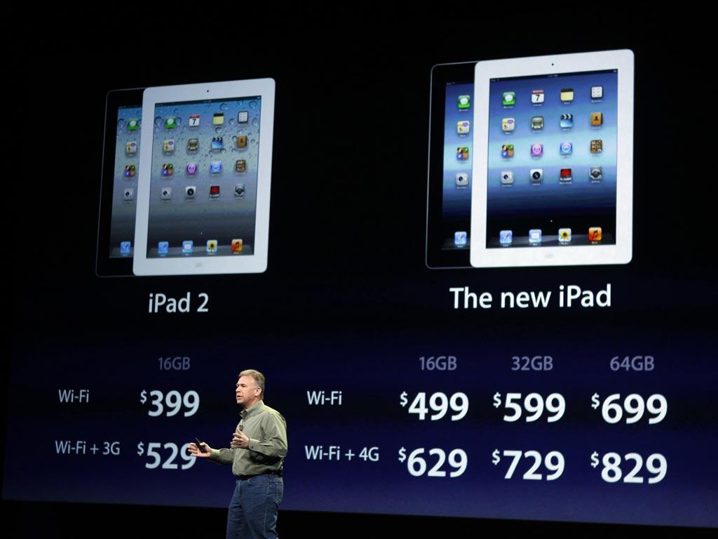 Apresentação do novo iPad