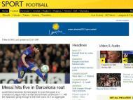 BBC (Inglaterra): «Messi marca cinco no alvoroço do Barcelona»
