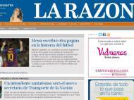 La Razon (Argentina): «Messi escreveu outra página da história do futebol»