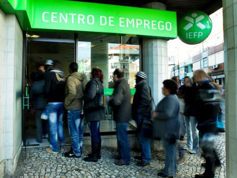 Centro de emprego (MIGUEL A. LOPES/LUSA)