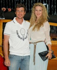 Tanto glamour na festa de apresentação de Indian Wells [Foto: Danny Moloshok/Reuters]