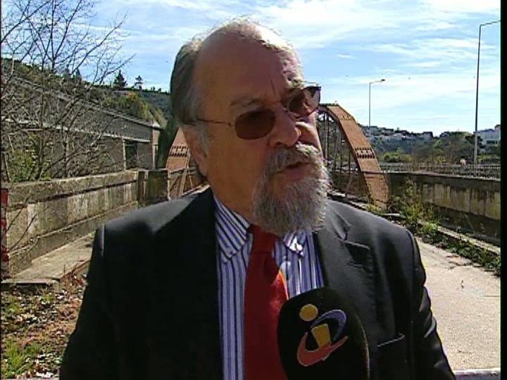 Jaime Soares, presidente da Liga dos Bombeiros