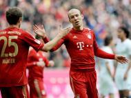 Bayern destroçou Hoffenheim (7-1), com Robben em grande [EPA]