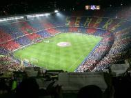 Camp Nou em dia de clássico