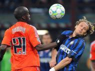 Inter Milão vs Marselha (EPA/Daniel Dal Zennaro)