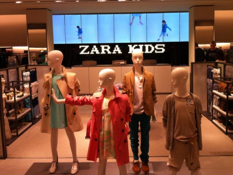 Zara tem novo «look»