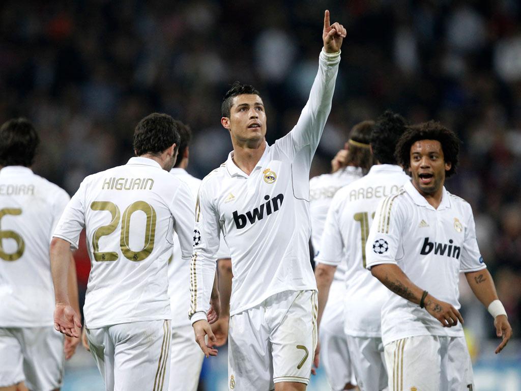 Ronaldo festeja golo (REUTERS/Juan Medina)