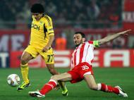 Olympiacos vs Metalist (EPA/Alexandros Vlachos)