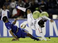 Futebol: emoção, arte e acrobacias? (REUTERS/HENRY ROMERO)
