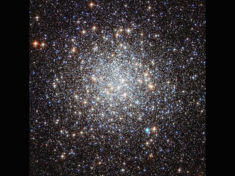 As estrelas mais antigas da galáxia (Foto: NASA/ESA)