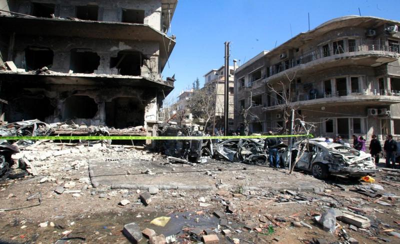 Atentados na Síria - EPA/YOUSSEF BADAWI