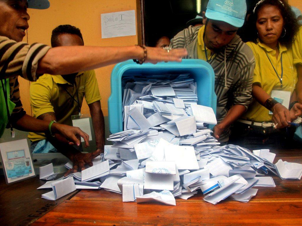 Timor-Leste: eleições sem problemas - EPA/ANTONIO DASIPARU
