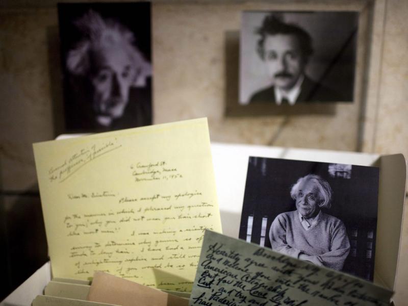 Arquivos de Einstein vão estar disponíveis na Internet (Abir Sultan/EPA)