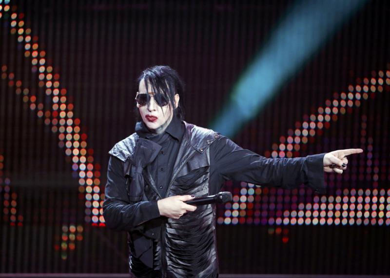 Marilyn Manson - Prémios Echo Music em Berlim Foto: Reuters