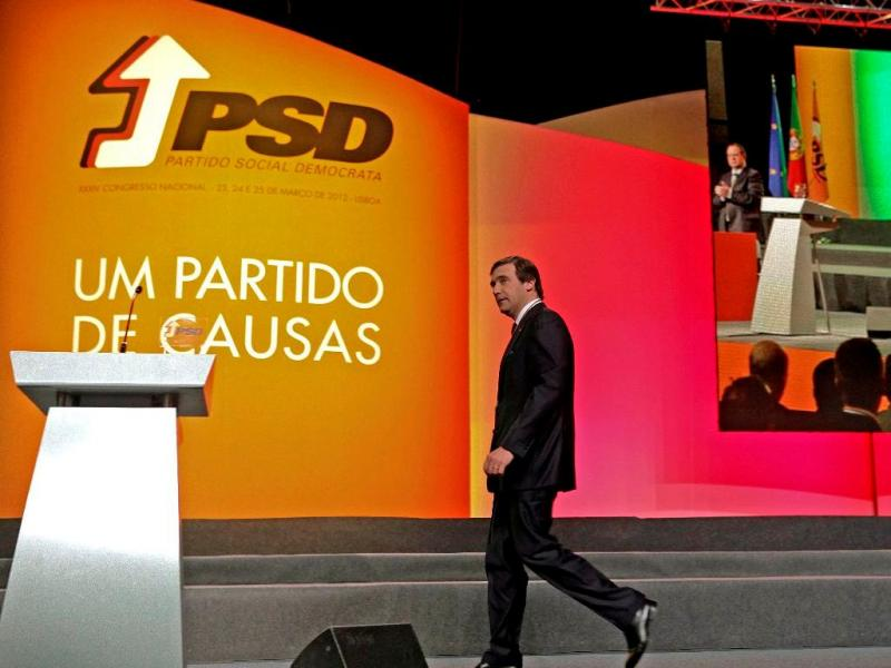 Congresso do PSD (Lusa)
