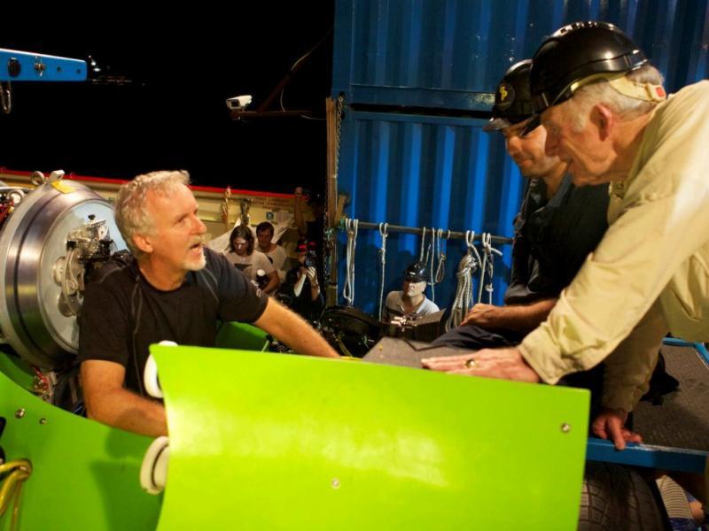 James Cameron faz viagem ao fundo do mar, na fossa das Marianas (Lusa)