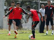 Benfica prepara Chelsea com sorrisos [Foto: Inácio Rosa/Lusa]