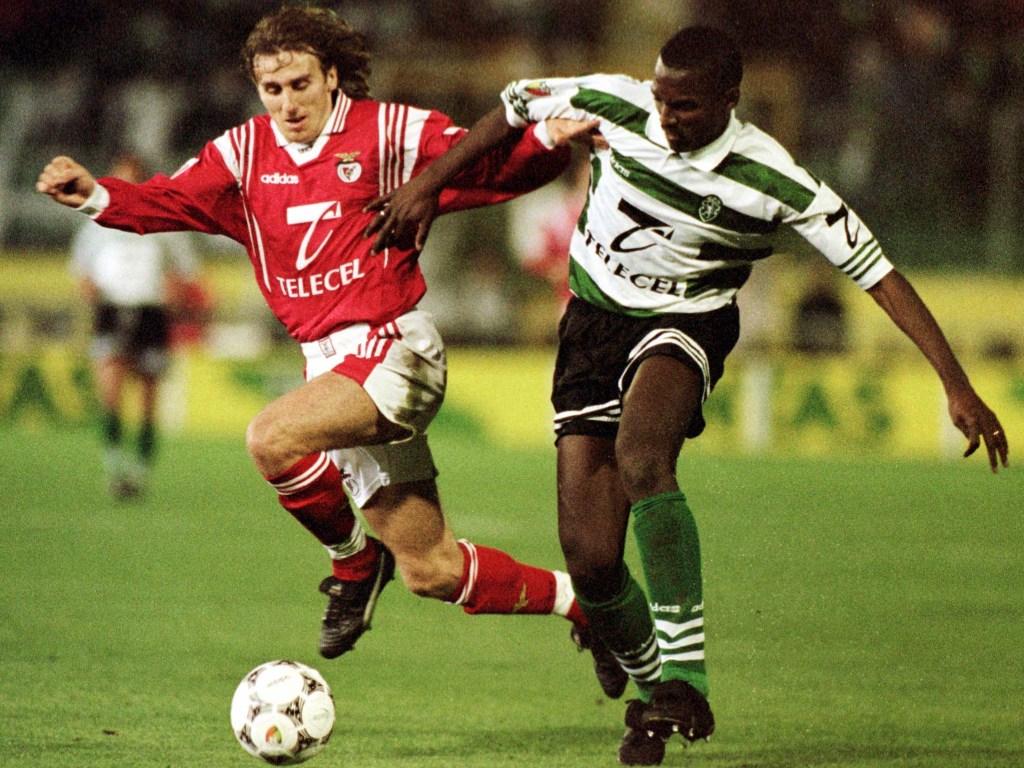 Poborsky: e num derby, com Marco Aurélio