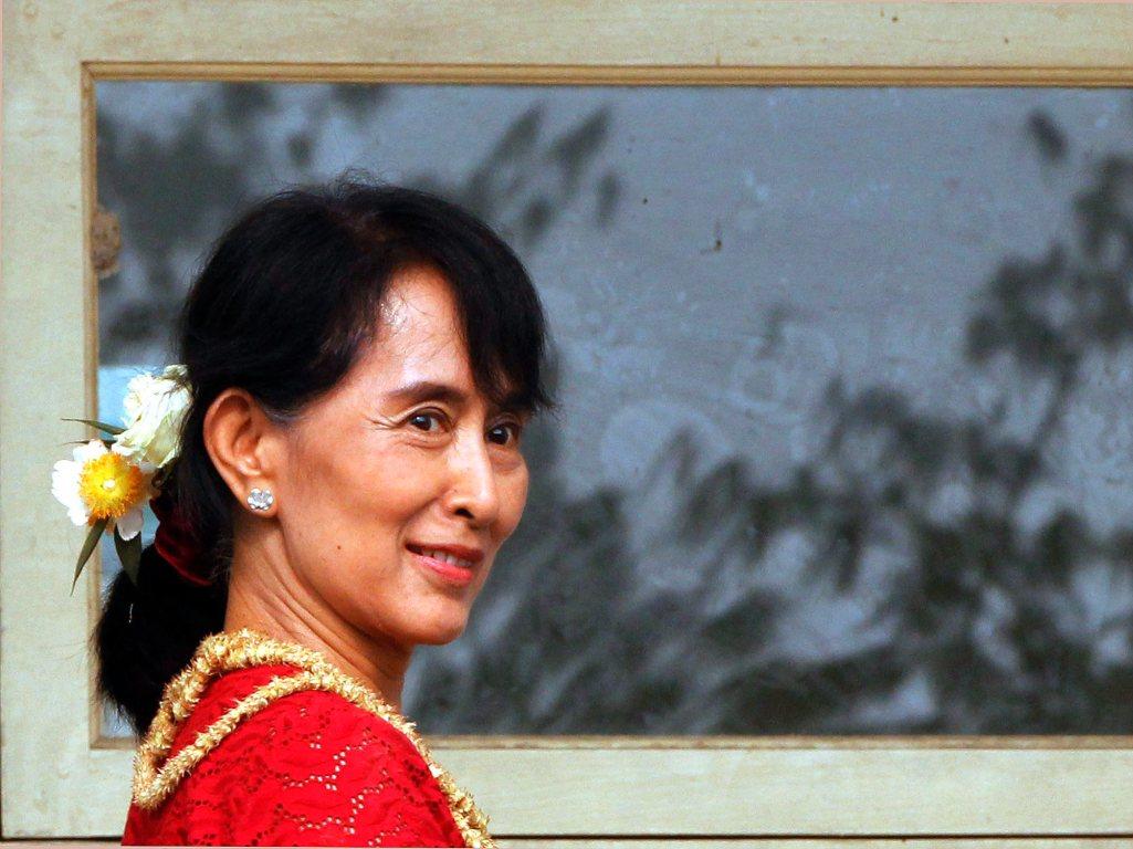 Aung San Suu Kyi - EPA/BARBARA WALTON