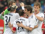 Nuremberga-Bayern, 0-1: líder Dortmund ficou a três pontos (EPA/Daniel Karmann)