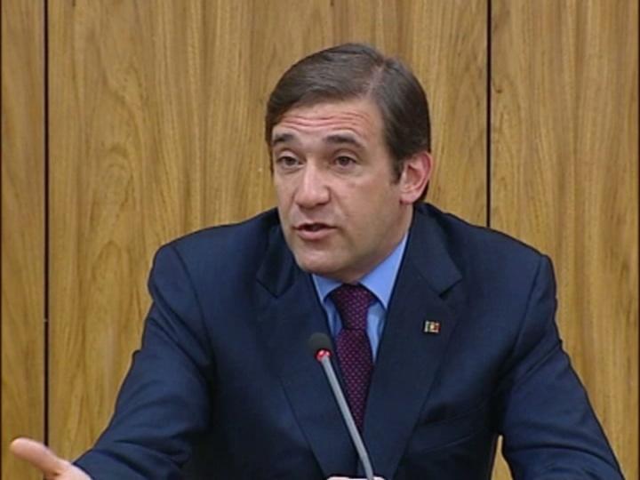 Pedro Passos Coelho, primeiro-ministro