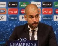 Guardiola e a polémica: «Os penalties apitam-se»