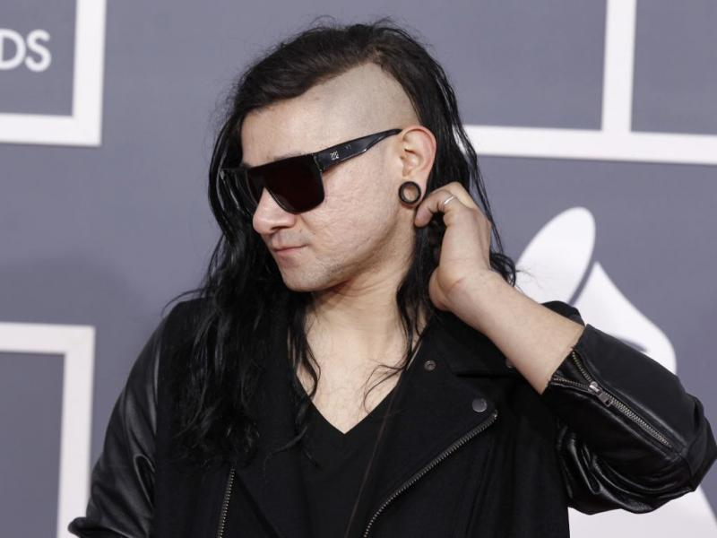 Skrillex nos Grammy Awards 2012 (Reuters)