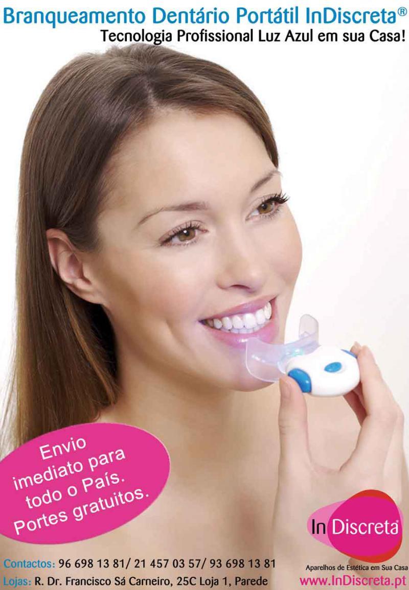 Dentes Brancos Tecnologia Luz Azul Em Sua Casa Tvi24
