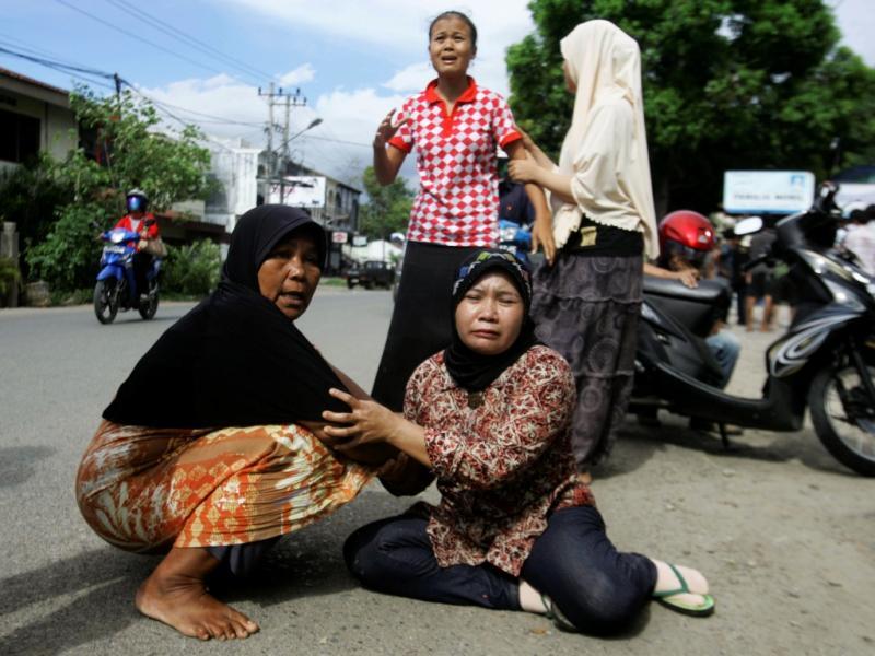 Sismo na Indonésia (Reuters)