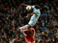 Manchester City  vs West Bromwich (EPA/LINDSEY PARNAB)