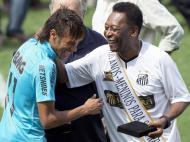 Santos: 100 anos com Pelé, Neymar e festa