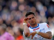 Líder Montpellier perde em Lorient [EPA/Stephane Mahe]