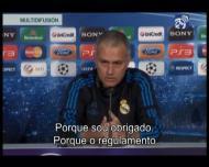 Mourinho: «Falo porque sou obrigado»
