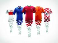 Equipamentos do Euro 2012 (FOTO: Nike)