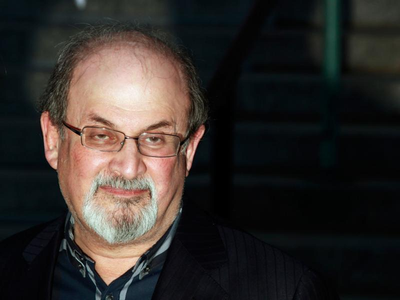 Salman Rushdie no Tribeca Film Festival 2012 (Lucas Jackson)